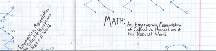 Math Course/Book (Not Completed)