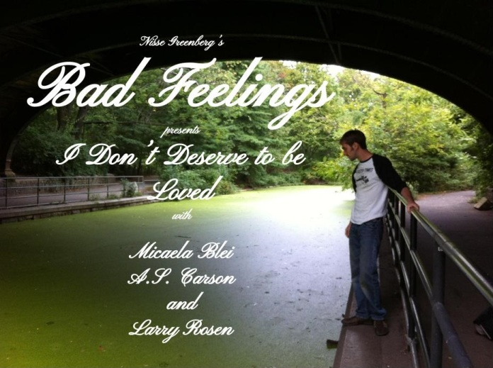 Bad Feelings Poster